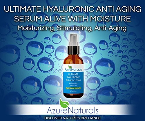 Azure Naturals Ultimate Hyaluronic Anti Aging Serum
