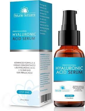 Petunia hyaluronic acid serum