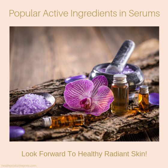 ingredients in serums