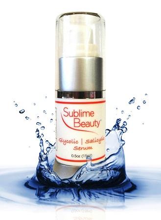 Sublime Beauty Glycolic Acid Serum - alpha hydroxy acid - skincare for men