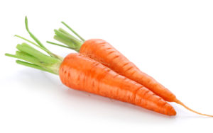 carrots - vitamin A for face