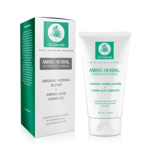 OZ Natural Products -Amino Herbal Hydration Mask