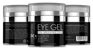 Luxe Natural Products - eye gel with hyaluronic acid