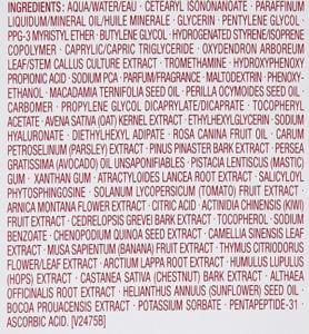 Clarins Double Serum ingredients