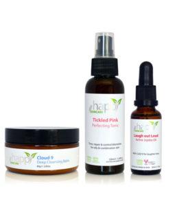 3 step happy skincare system - vegan skincare