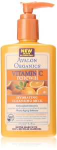 Avalon Organics Intense Defense Cleansing Milk - anti-aging skincare routines