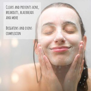 anti-aging exfoliating cleanser