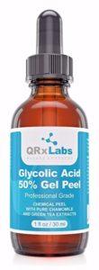 QRxLabs Glycolic Acid 50 percent Gel Face Peel