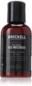 Brickell Men's Daily Essential Face Moisturizer for Men - Oil Free Moisturizers