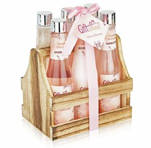 Spa Gift Basket with Heavenly Cherry Blossom Fragrance - valentine's day gifts