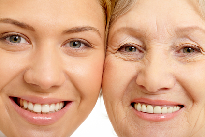 Dry complexion and aging skin