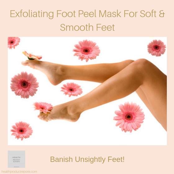 Exfoliating Foot Peel Mask