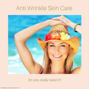 anti-wrinkle skin care