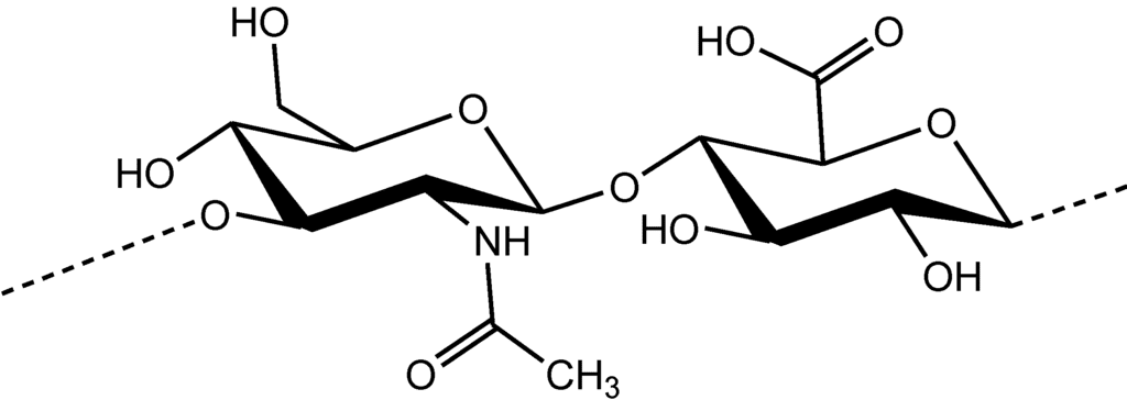 molecular formula of hyaluronic acid serums