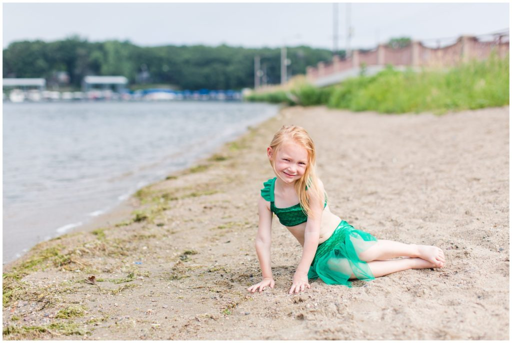 Family Vacation at Lake Okoboji, Iowa | Arnold's Park Public Beach | CB Studio