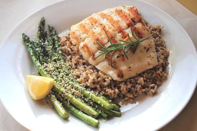 The Best Grilled Halibut