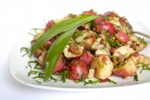 Potato Salad with Bacon & Grainy Mustard