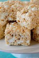 Rice Krispie Treats made with Butter Olive Oil