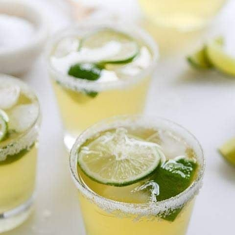 Honey Ginger Tequila Sunrise