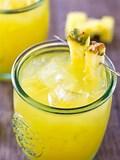 Pineapple Balsamic Lemonade Cocktail