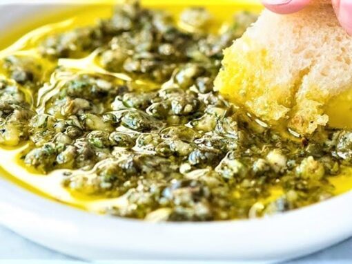 GARLIC AND HERB OLIVE OIL DIP
