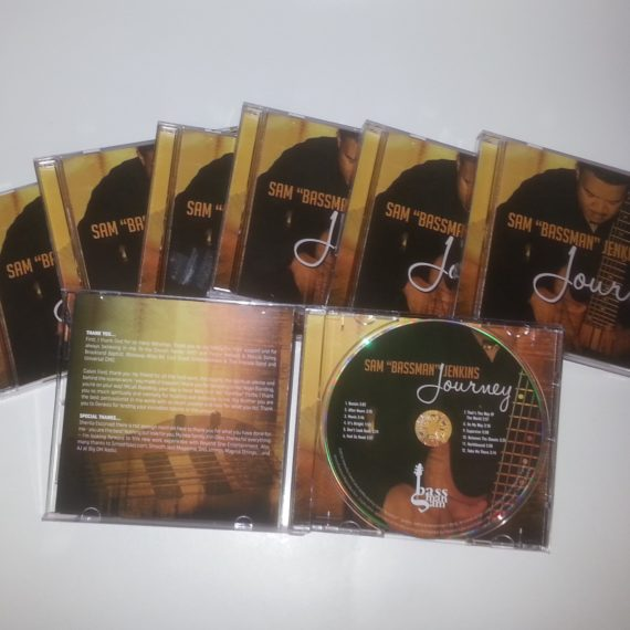 Replicated CDs in Jewel Box from CLG Music & Media
