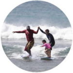 Teaching how to Surf