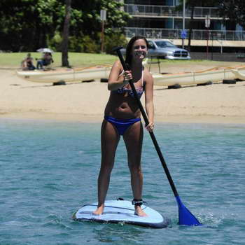 Try some Stand up Paddle boarding
