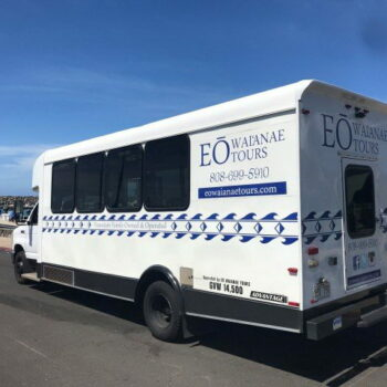 EO Waianae Dolphins Shuttle Bus