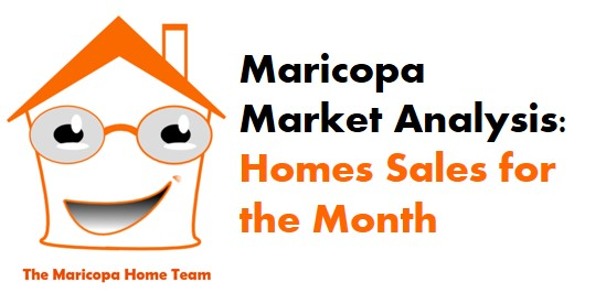 Maricopa Home Sales August 2015