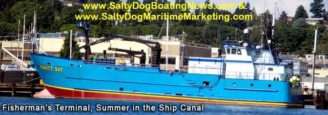 Salty Dog Maritime Marketing & Salty Dog Boating News - PNW & AK best Commercial Vessel Boat Spotting