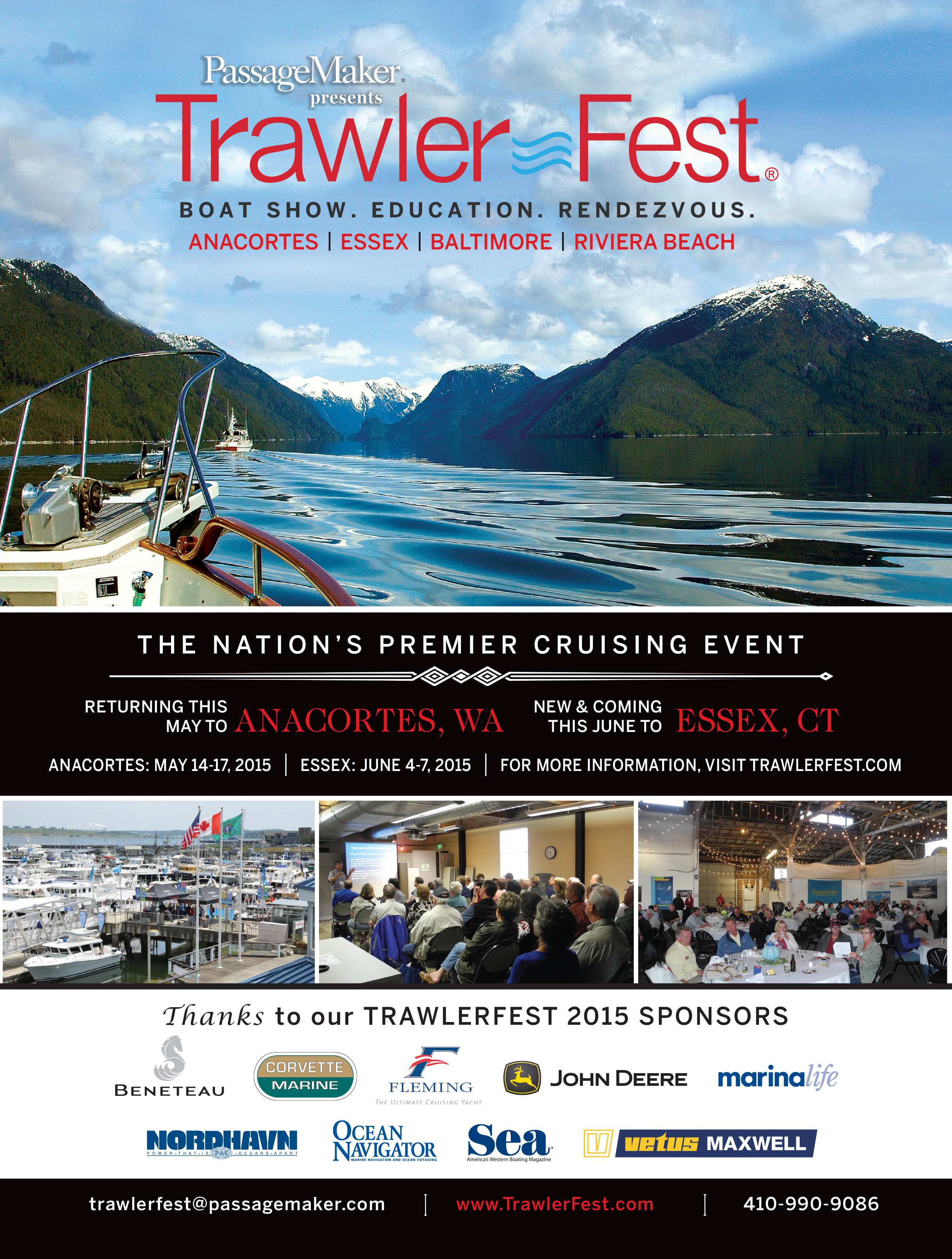 May 14 - 17, 2015, Anacortes, Trawler Fest, JOIN US!
