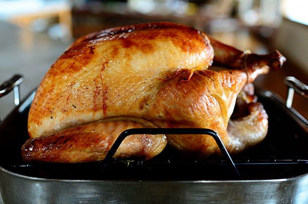 Thanksgiving Turkey, PNW Galley Cooking at Sea, Fresh out the oven!