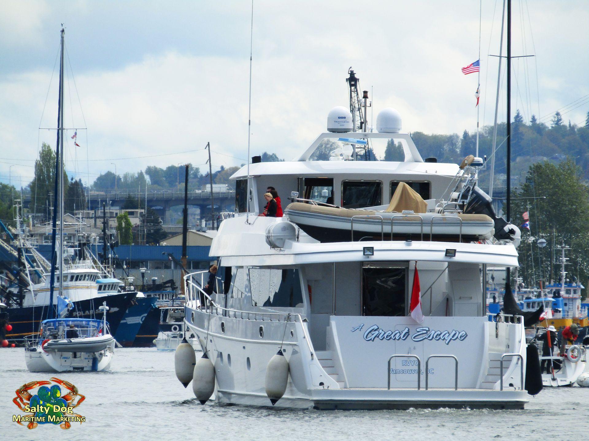Opening Day 2017, Seattle Yacht Club, UW Husky Crew Races Montlake