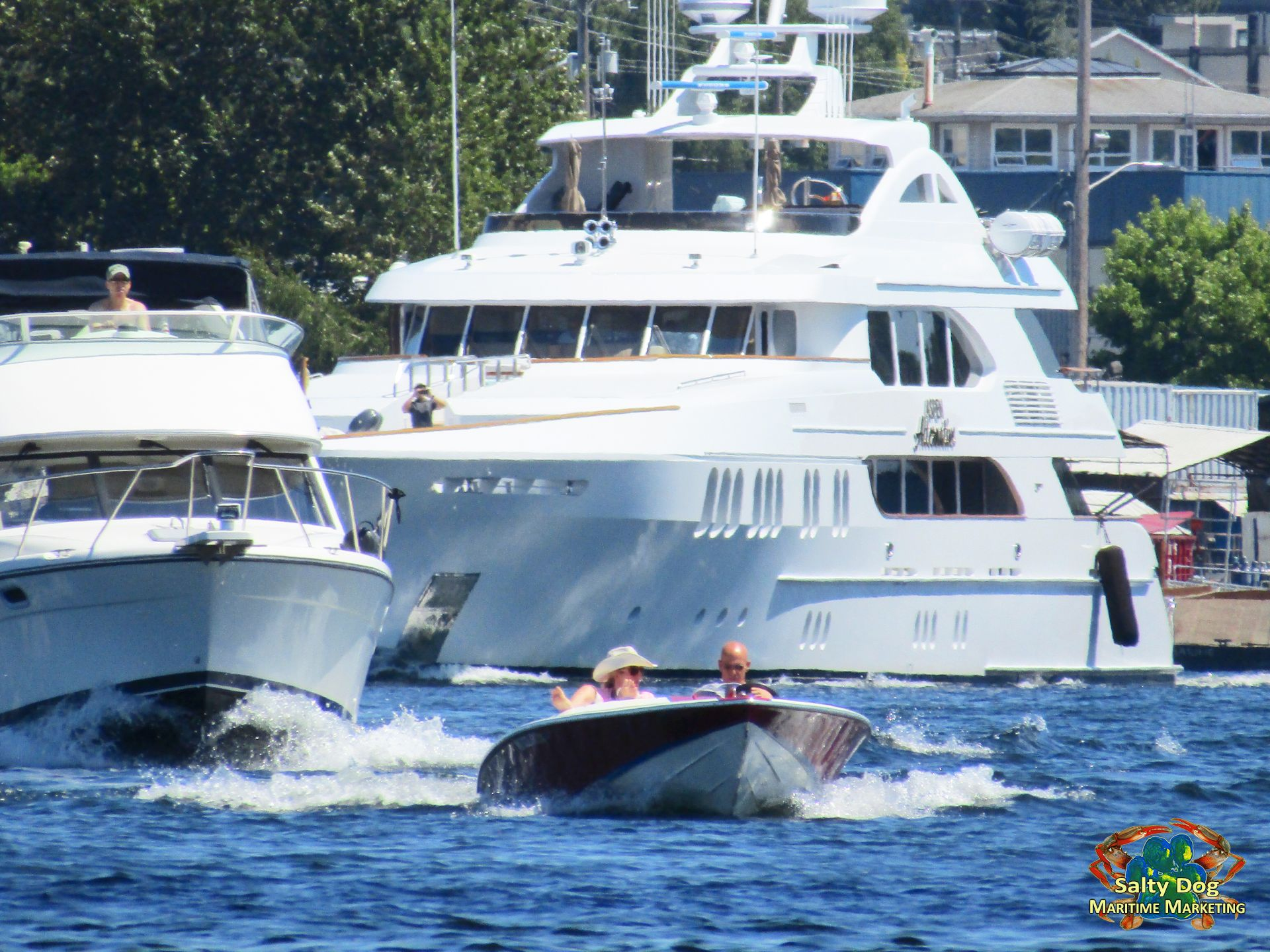 Aspen Alternative, Pacific Northwest Superyacht, Trinity
