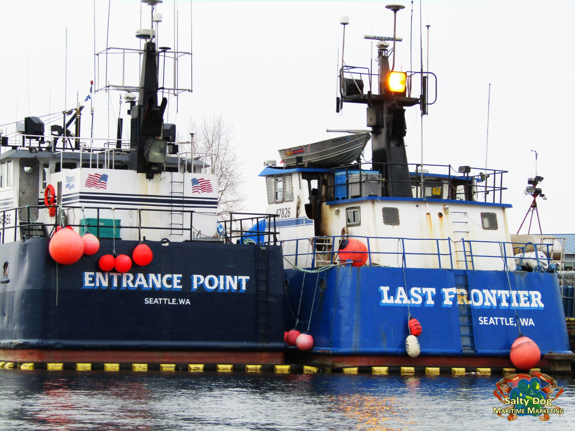 Trident Seafoods, Bulldog, Farwest Leader, Last Frontier
