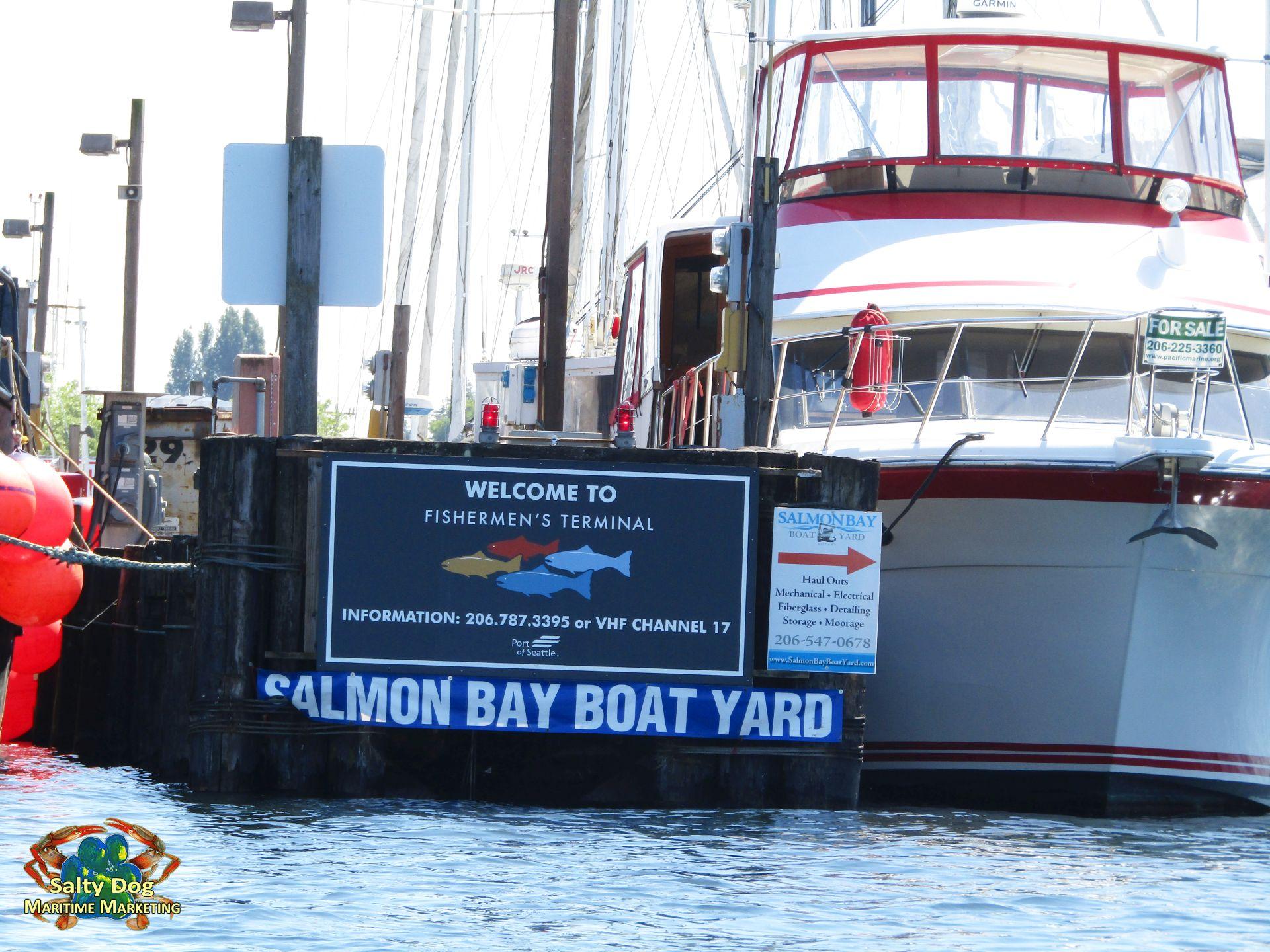 Port of Seattle, Fishermen's Terminal, Buys Salmon Bay Marina, WA