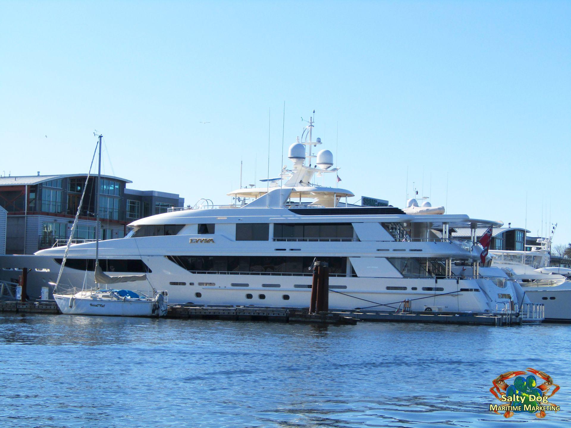 Evviva, Westport Superyacht, Seattle, PNW superyachts