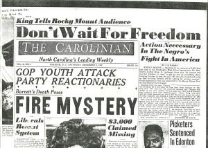 The Carolinian Dec. 8 1962