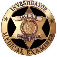 Medical Examiner badge
