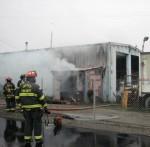 Equipment fire