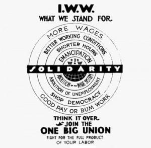 IWW sign