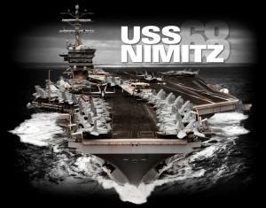 USS Nimitz Facebook  photo