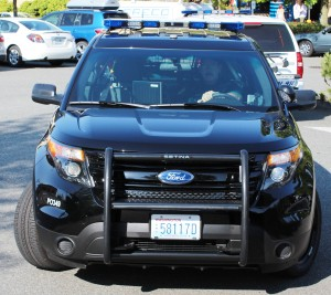 New Everett Police SUV front view