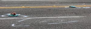 flip-flops in street