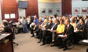It was standing room only at Wednesday night's Everett City Council meeting.
