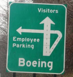 Boeing Parking