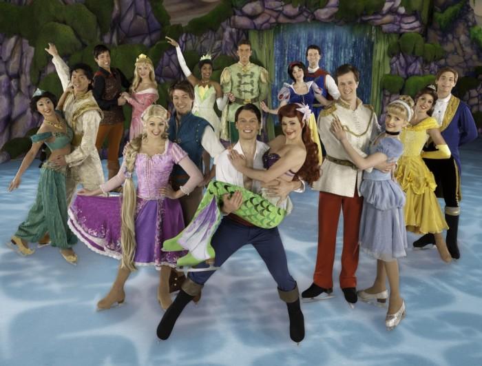 princesses and princes on ice nj