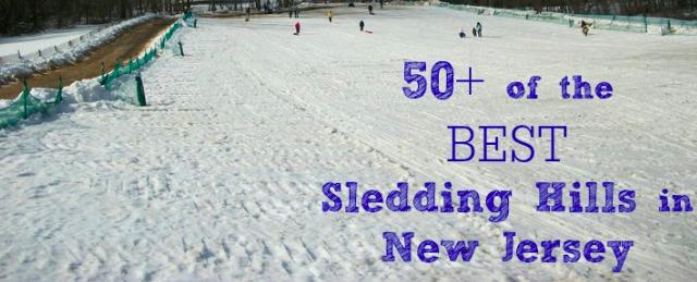 best sledding new jersey