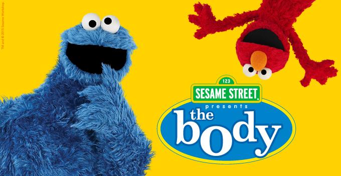 sesame street the body
